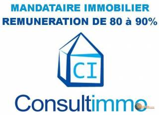 la petite annonce recrute mandataires immobilier consultimmo 90% sur Sibesoin.com / aast (64460)